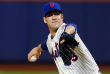 Emeralds Matt Harvey Throws One-Hitter in 3-0 Victory Over Monsters