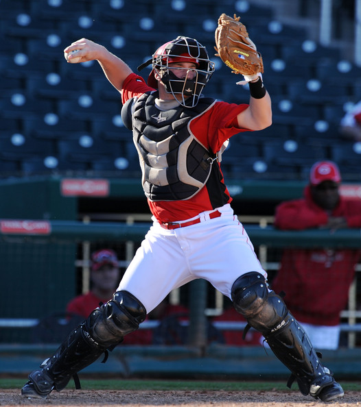 Barnhart caught 48% of basestealers in Winter League and 28% in AAA before his call up