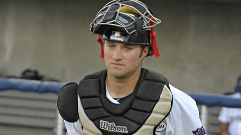 Barnhart is getting called up to the CBL Vancouver Canadians
