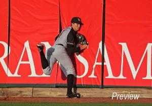 Colin Bray, center fielder
