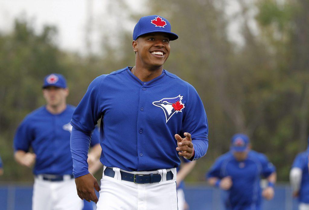 MLB: Toronto Blue Jays- Workout